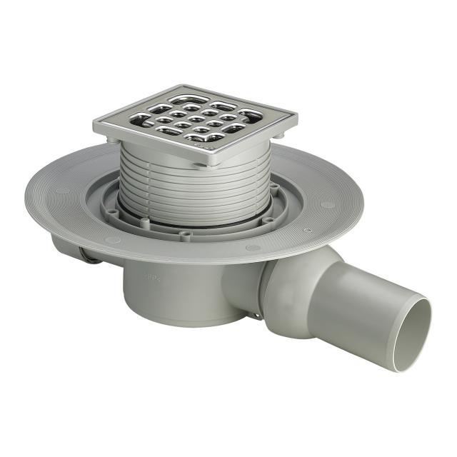 Viega Advantix bathroom drain, horizontal