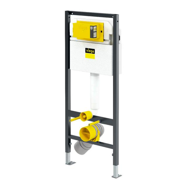 Viega Prevista Dry wall-mounted toilet installation element H: 112 cm, for commercial construction