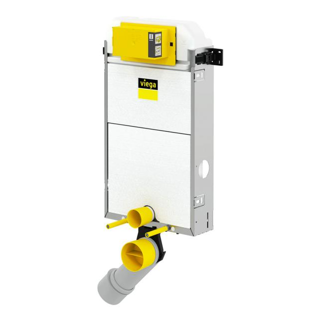 Viega Prevista Pure wall-mounted toilet installation element H: 107.7 cm, with vent connection