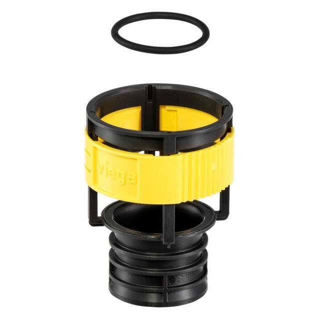 Viega Prevista replacement waste valve holder with flush throttle