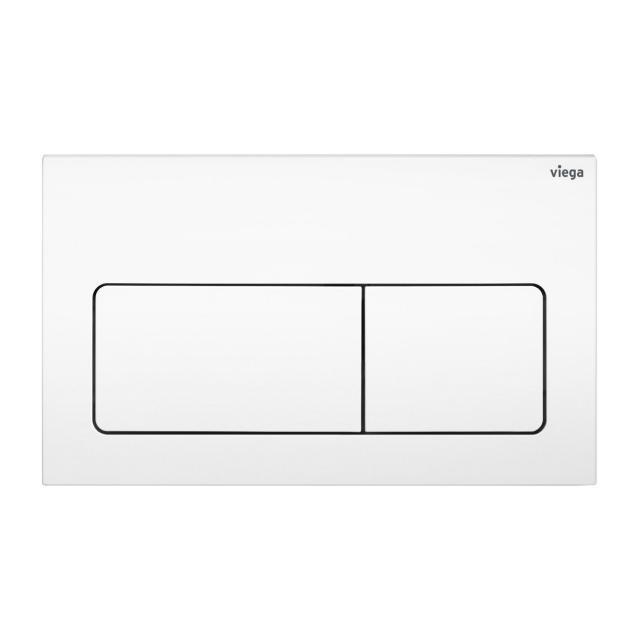 Viega Visign for Life 5 toilet flush plate white