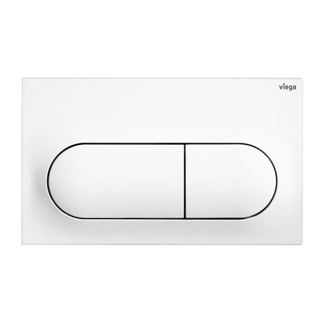 Viega Visign for Life 6 toilet flush plate white