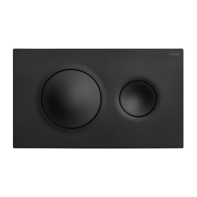 Viega Visign for Style 20 toilet flush plate matt black