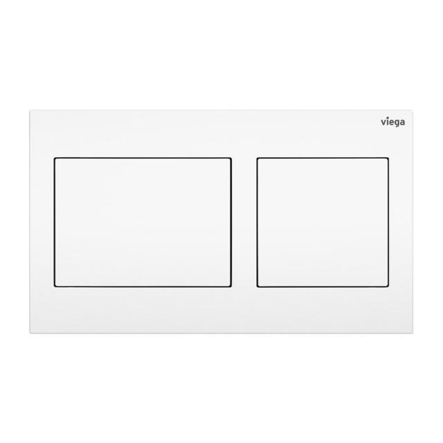 Viega Visign for Style 21 toilet flush plate white