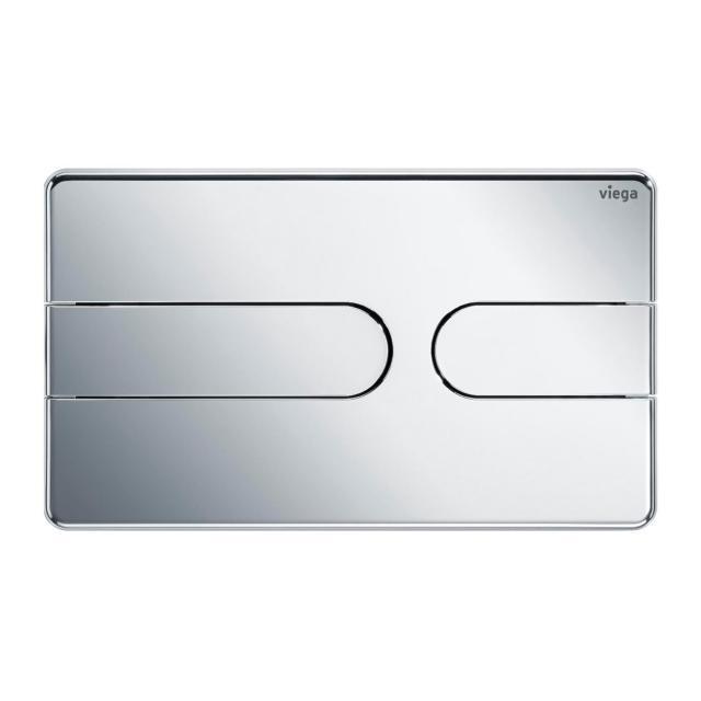Viega Visign for Style 23 toilet flush plate chrome/chrome, plastic/plastic