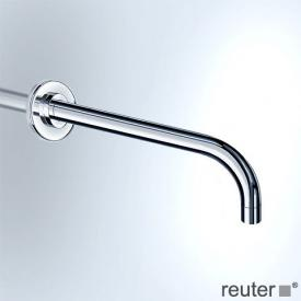 Vola wall spout, pipe Ø 19 mm projection: 200 mm, stainless steel