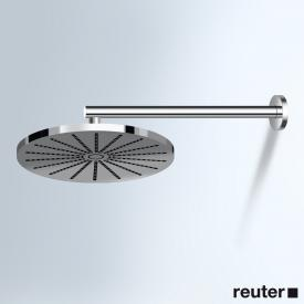 Vola 060-100 wall-mounted overhead shower, round chrome