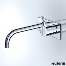 Vola 122X concealed single lever basin mixer, operating lever right: 60 mm projection: 225 mm, chrome