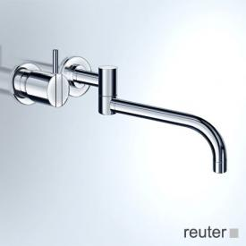 Vola 131L concealed single lever kitchen / basin mixer, operating lever: 100 mm projection: 250 mm, stainless steel