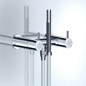 Vola 1671 exposed, two handle shower mixer chrome