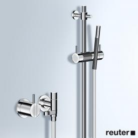 Vola 2171-T34 shower set with shower rail chrome