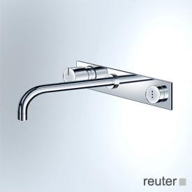 Vola 4113/4123 sensor operated, single lever basin mixer with cover plate projection: 160 mm, chrome