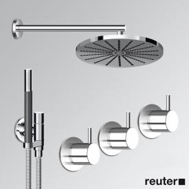 Vola 5471R-061 thermostatic shower mixer combination chrome