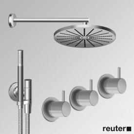 Vola 5471R-061 thermostatic shower mixer combination stainless steel