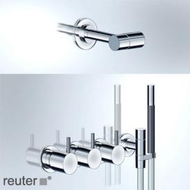 "Vola 5471R-081 thermostatic shower mixer combination 3/4"" stainless steel"