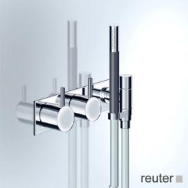 Vola 673RK two lever shower mixer chrome