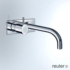 Vola 912/922 concealed, wall-mounted basin valve, operating lever: 25 mm projection: 160 mm, stainless steel