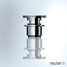 Vola A62 waste and overflow valve with Push-Up function stainless steel