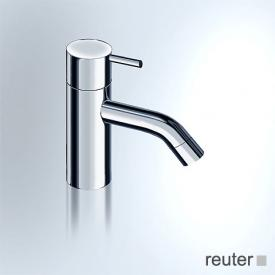 Vola RB pillar tap, operating lever: 25 mm without waste set, projection: 114 mm, stainless steel