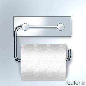 Vola T12 toilet roll holder for one roll chrome high gloss