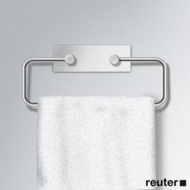 Vola T15 towel ring brushed stainless steel