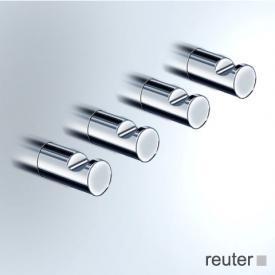 Vola T17 short towel hooks, set of 4 chrome high gloss