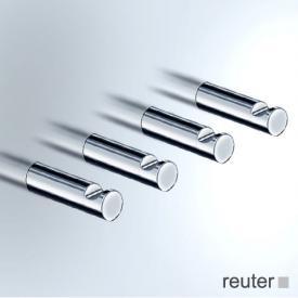 Vola T18 long towel hooks, set of 4 chrome high gloss