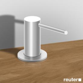 Vola T36 soap dispenser, projection 67 mm stainless steel