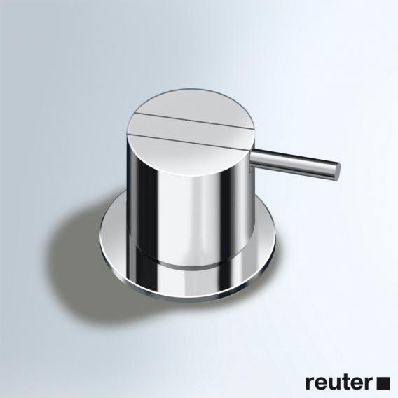 Vola 500 deck-mounted single lever mixer chrome