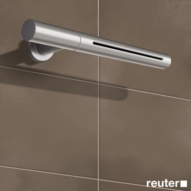 Vola 080W wall-mounted cascade spout stainless steel
