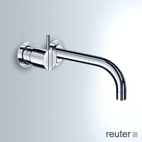 Vola 2112C single lever mixer projection: 160 mm, stainless steel