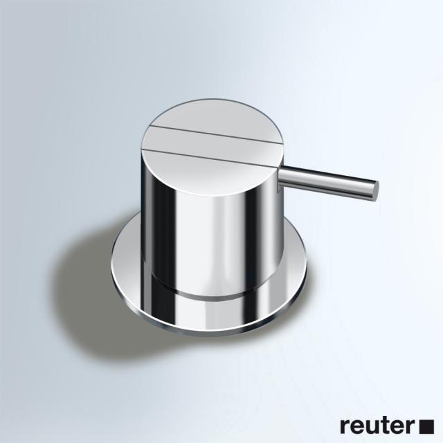Vola 500 deck-mounted single lever mixer chrome