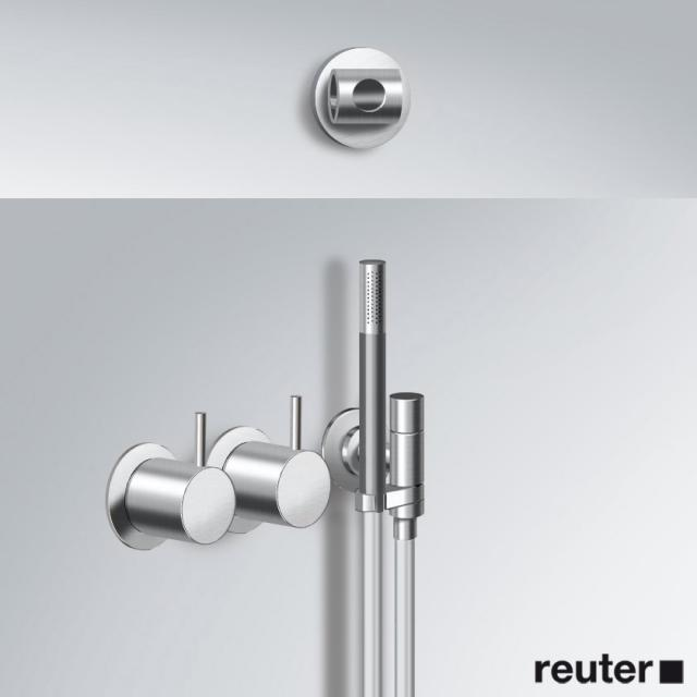 """Vola 5171RT9 thermostatic shower mixer 3/4"""" stainless steel"""