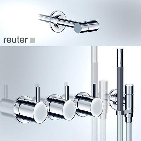 Vola 871-081 two lever shower mixer set chrome