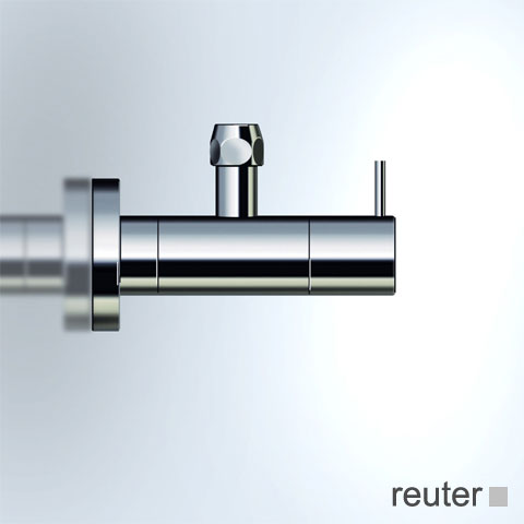 Vola S10 angle valve stainless steel