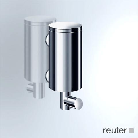Vola T10JR wall-mounted soap dispenser chrome high gloss