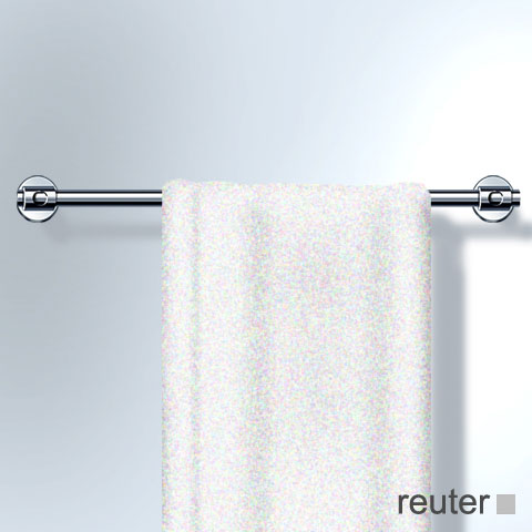 Vola T19 towel rail brushed stainless steel, 800 mm