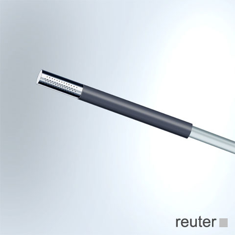 Vola T2 hand shower with shower hose 1500 mm chrome
