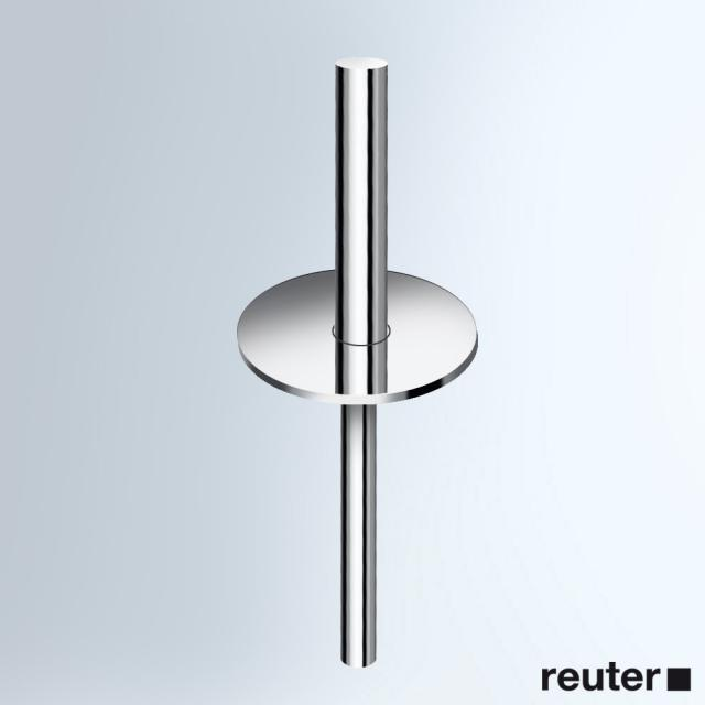 Vola VR8xx handle with lid, complete for toilet brush set T33 high gloss chrome