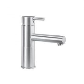 Wagner-Ewar A-Linie washbasin fitting WA 100 without waste set, brushed stainless steel