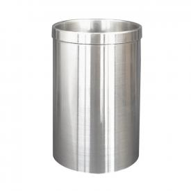 Wagner-Ewar brush container brushed stainless steel