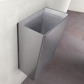 Wagner-Ewar P-Line waste bin 23 litres brushed stainless steel