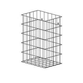 Wagner-Ewar waste basket WP 197 for mounting under a table high gloss polished stainless steel