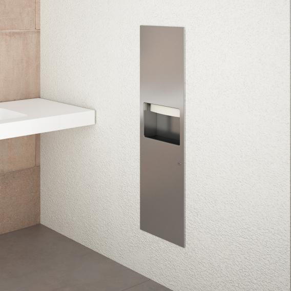 Wagner-Ewar combination WP 610 for recessed mounting matt polished stainless steel