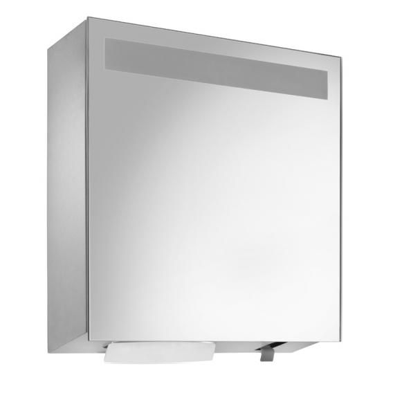 Wagner-Ewar mirror cabinet WP 600 for surface mounting satin matt