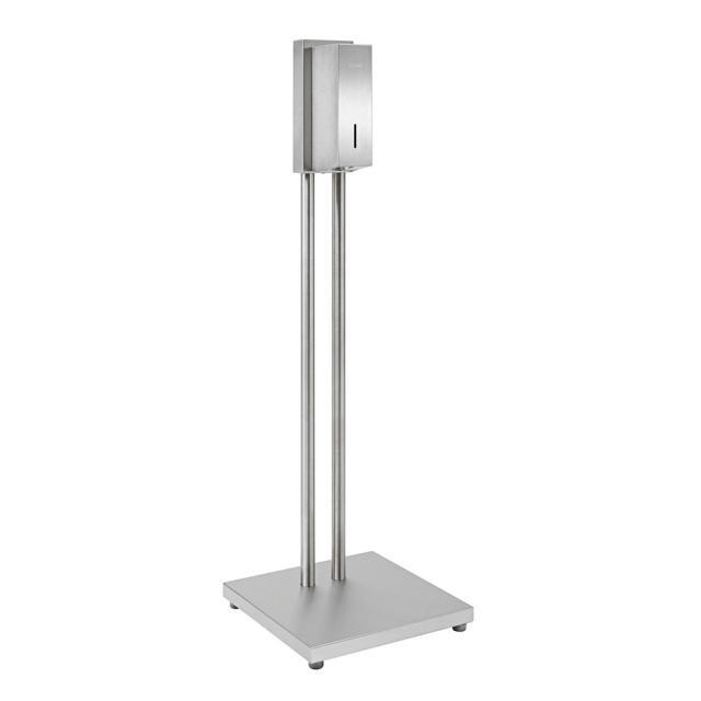 Wagner-Ewar A-Line freestanding hygiene station with sensor-operated disinfectant dispenser, floorstanding