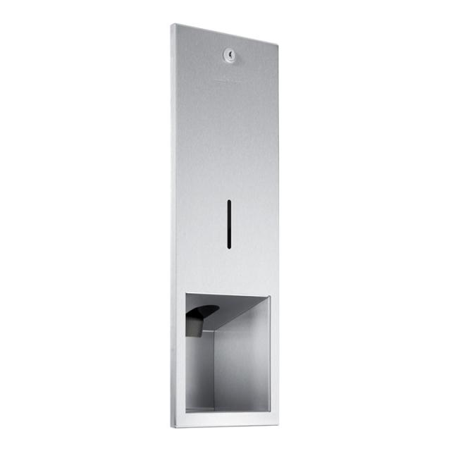 Wagner-Ewar A-Line recessed disinfectant dispenser brushed stainless steel
