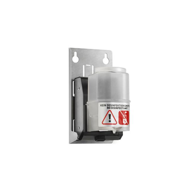 Wagner-Ewar A-Line recessed sensor soap dispenser with built-in tank brushed stainless steel
