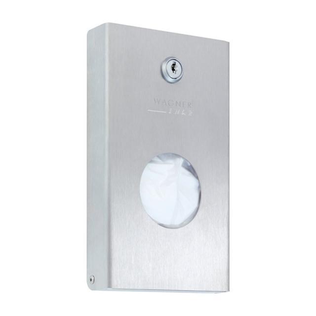 Wagner-Ewar A-Line sanitary bag dispenser brushed stainless steel