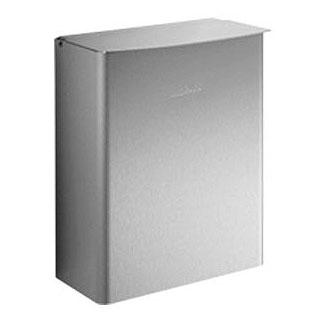 Wagner-Ewar A-Line sanitary waste bin 4 litres brushed stainless steel